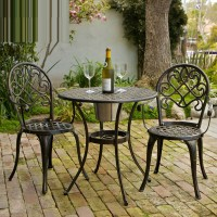 Aluminum outdoor furniture balcony tables and chairs combination