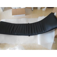 Repair Replacement Cushion for Le Corbusier LC4 Chaise Lounge Chair in Black Italian Leather