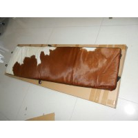 Le Corbusier LC4 Chaise Lounge Chair Cushion and Strap in Pony Skin Leather