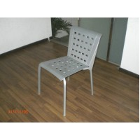 Aluminium holes chair