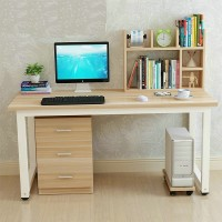 Office tables and chairs Computer tables with Bookcase combination