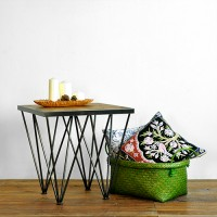 Rustic antique side table