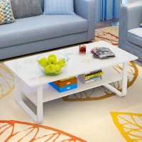 Coffee table fashionable assembly low table
