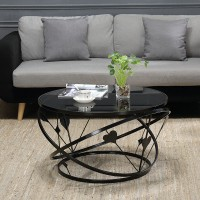 Creative small apartment coffee table round