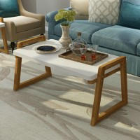 Nordic coffee table of solid wood