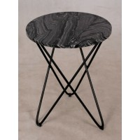 Marble coffee table design side table