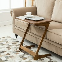 Bamboo side coffee table