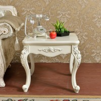 European style corner side cabinet table style 1