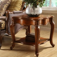 American village solid wood side table