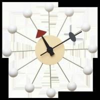 Nelson Ball Clock White