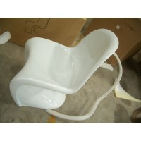 Panton chair in fiberglass NOT ABS of white color