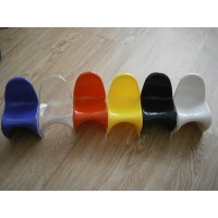7pcs Mini Panton Chairs in 7 different colors as a set
