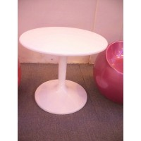 Tulip Table of 60cm,made in fiber glass