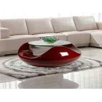 Round flying saucer UFO coffee table