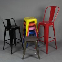 Tolix Style Bar Chair