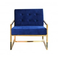 Gold finger Lounge chair