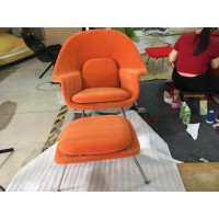 Womb Chair in Orange Color