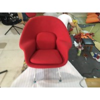 Womb Chair in Red Color