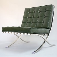 Barcelona Style Chair in Full Nappa Leather