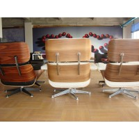 Charles Eames style Lounge Chair and ottoman