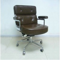 Eames Style lobby chair,made in PVC leather