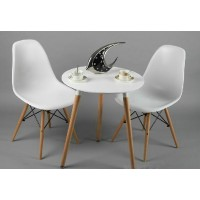 Eames DSW DAW simple style wooden table of 60cm diameter