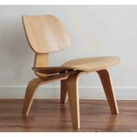 Eames Style LCW plywood dining Chair in Ash