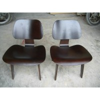 Eames Style LCW plywood dining Chair in Rosewood