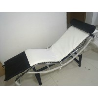 Le Corbusier Style Chaise Lounge Chair Lc4 In Italian Leather