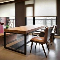 LC6 Style Wood Table
