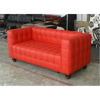 Hoffman Kubus Loveseat,two seaters in PU leather