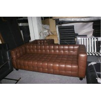 Hoffman Kubus Sofa,three seaters in PU leather