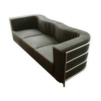 Onda Sofa,three seaters in Fabric or PU leather