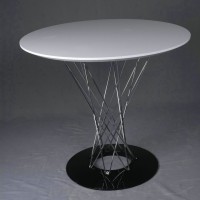 Noguchi Cyclone Dining Table of 60cm in diameter
