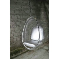 Hanging Bubble Chair in pod style