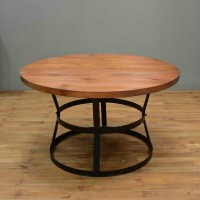 Panton Style Wood Table
