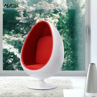 Pod chair,Egg chair,fixed leg,color various