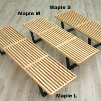 Nelson Platform Bench of medium size