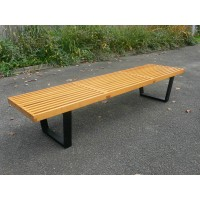 Nelson Platform Bench of large size