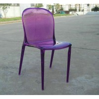 Kartell Style Thalya Chair purple color