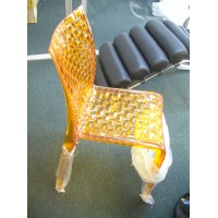 Kartell Style Ami Ami Chair in yellow