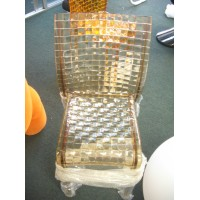 Kartell Style Ami Ami Chair in tan color